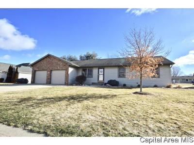 Pawnee Single Family Home For Sale: 1210 Michele Dr.