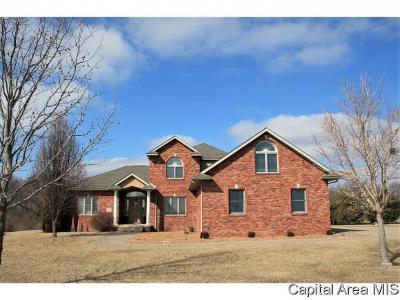 Pawnee Single Family Home For Sale: 4475 E Divernon Rd