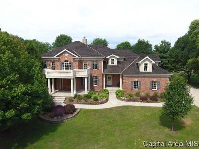 Springfield Single Family Home For Sale: 16 Hickory Ridge Ln