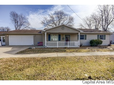 Taylorville Single Family Home For Sale: 900 E Elm St