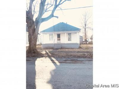 Bulpitt IL Single Family Home For Sale: $43,900