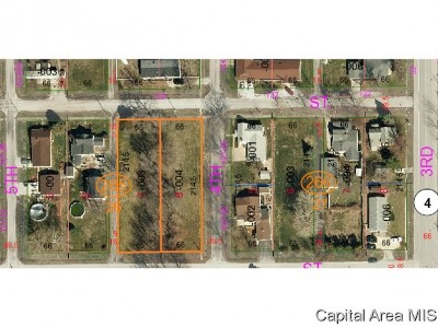 Girard Residential Lots & Land For Sale: Lot 7 On 4th Street