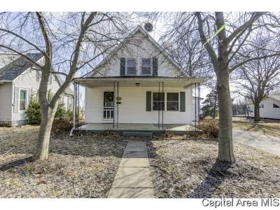 Waverly Single Family Home For Sale: 248 E Vandalia St