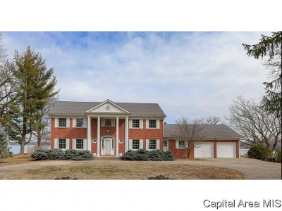 Sangamon County Single Family Home For Sale: 45 Forest Rdg