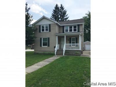 Jacksonville Single Family Home For Sale: 307 E Michigan Ave