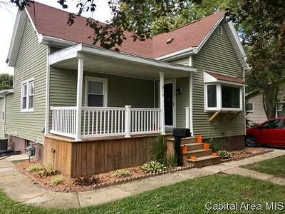 Jacksonville IL Single Family Home Pending Continue to Show: $89,900