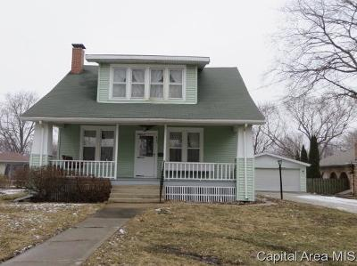 Jacksonville IL Single Family Home Pending Continue to Show: $110,000