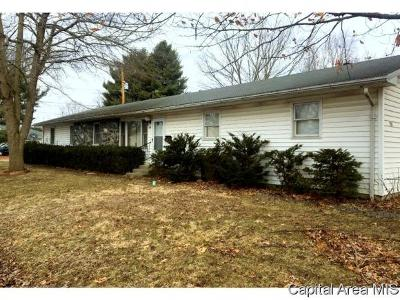Carlinville Single Family Home For Sale: 702 University