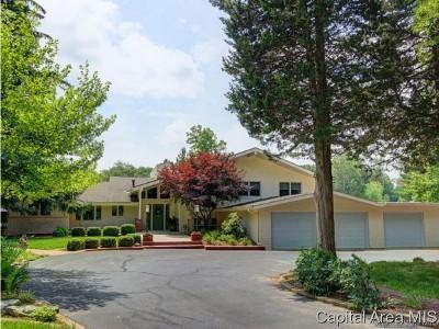 Sangamon County Single Family Home For Sale: 2 Beachview Lane