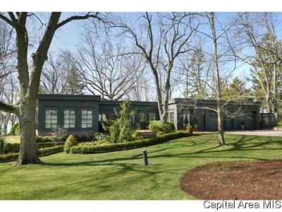 Sangamon County Single Family Home For Sale: 38 Island View Ln