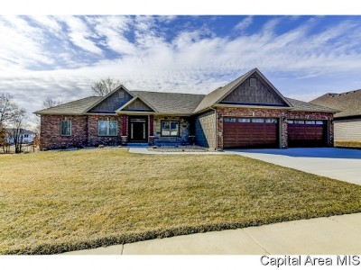 Chatham Single Family Home For Sale: 1912 Willow Bend