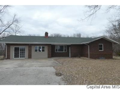 Virden Single Family Home For Sale: 18332 N County Line Road