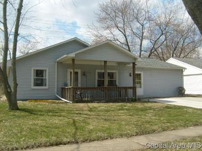 Springfield Single Family Home For Sale: 1801 Hastings Rd