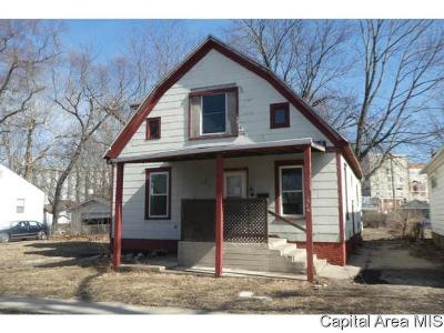 Springfield Single Family Home For Sale: 1024 N 14th Street