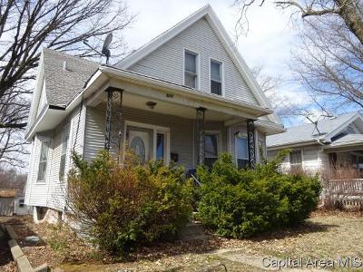Springfield Single Family Home For Sale: 511 N Walnut