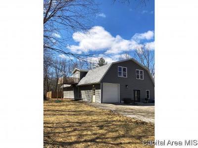 Pleasant Plains Single Family Home For Sale: 7270 Deer Run Rd