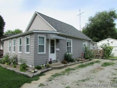 Virden Single Family Home For Sale: 1154 N Grove St