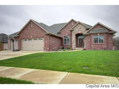 Springfield Single Family Home For Sale: 2617 Old Bachelor Trl