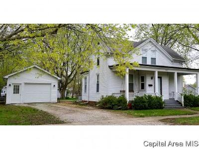 Carlinville Single Family Home For Sale: 403 N Charles St