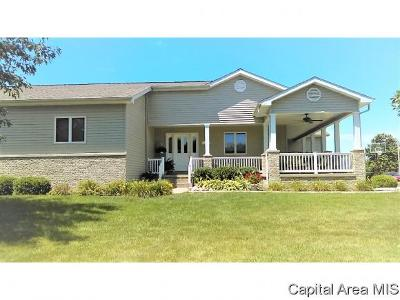 Pleasant Plains Single Family Home For Sale: 111 Sycamore