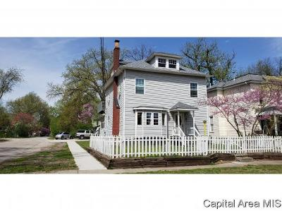 Taylorville Single Family Home For Sale: 509 S Webster St