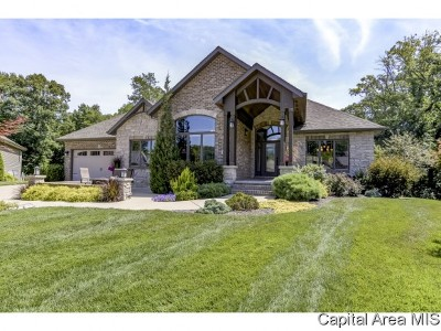 Chatham Single Family Home For Sale: 501 Deer Meadow Dr