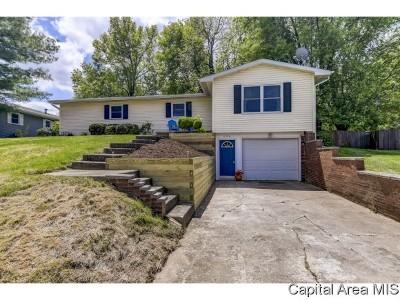 Pleasant Plains Single Family Home Pending Continue to Show: 604 Grandview Dr