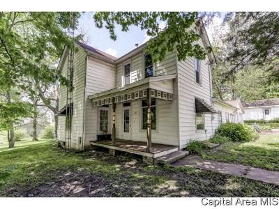 Pleasant Plains Single Family Home For Sale: 401 W Main St