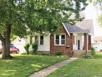 Taylorville Single Family Home Pending Continue to Show: 603 W Poplar St