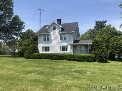 Jacksonville Single Family Home For Sale: 1620 Old Route 36