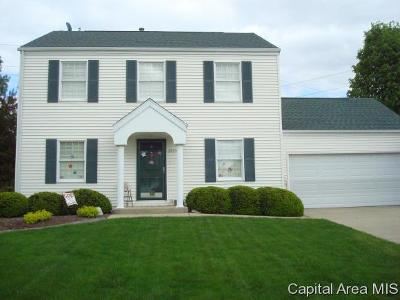 Springfield Single Family Home For Sale: 2824 Warrior Blvd
