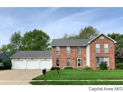 Springfield Single Family Home For Sale: 3101 Markwood Lane
