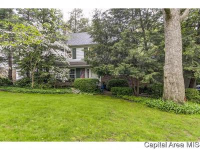 Springfield Single Family Home For Sale: 2001 Illini Road