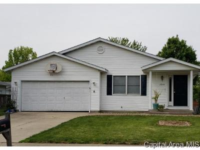 Springfield Single Family Home For Sale: 2905 Sutherland Road