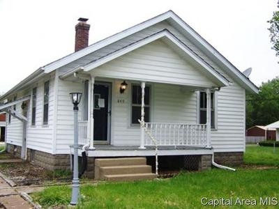 Springfield Single Family Home For Sale: 849 N Hill