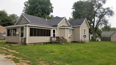 Vermilion County Single Family Home For Sale: 411 Newlin