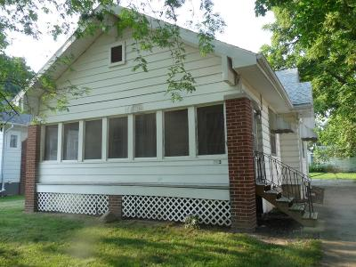 Danville IL Single Family Home For Sale: $37,500
