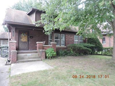 Single Family Home For Sale: 1405 Walnut