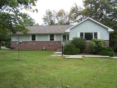 Danville Single Family Home For Sale: 27476 Shake Rag Rd