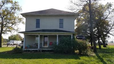 Vermilion County Single Family Home For Sale: 13934 E 2100 North Rd