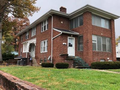 Danville Multi Family Home For Sale: 1202 Walnut