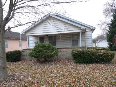 Danville IL Single Family Home For Sale: $29,900