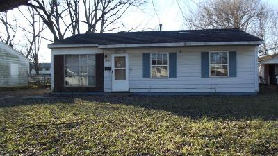 Vermilion County Single Family Home For Sale: 1010 Moore