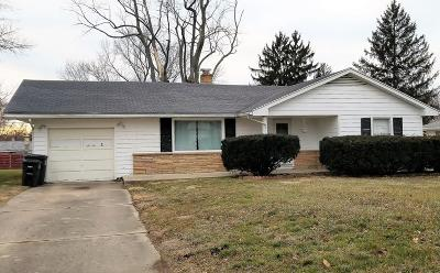 Vermilion County Single Family Home For Sale: 1646 N Oak