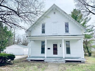 Vermilion County Single Family Home For Sale: 301 Gilbert Street