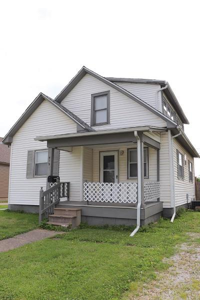 Vermilion County Single Family Home For Sale: 419 Avenue A