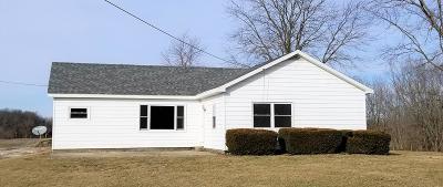 Danville Single Family Home For Sale: 17697 E 1290 North Rd