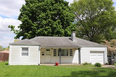Vermilion County Single Family Home For Sale: 1513 Washington