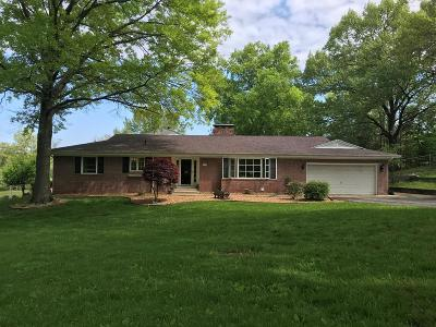 Vermilion County Single Family Home For Sale: 1127 Wilkin Road