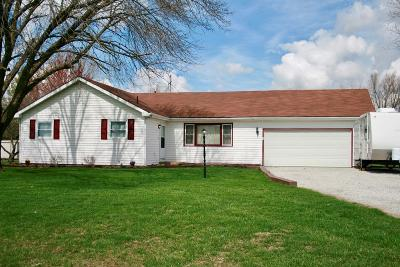 Vermilion County Single Family Home For Sale: 15897 Perrysville